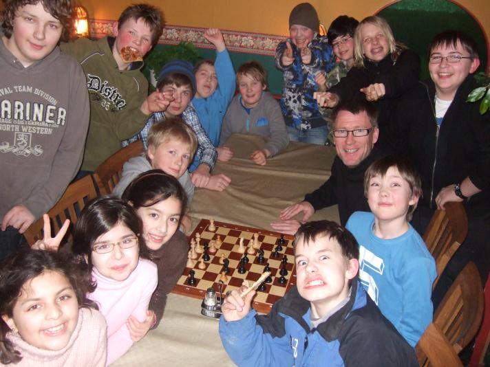 Sjakk og Pizza